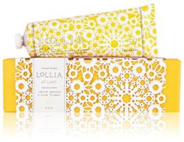 Lollia AT LAST White Petals & Rice Flower Hand Creme 4 oz 113 g - $34.99