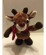 "Rudolph 12"" Animated Plush Dan Dee 2013 Reindeer 50 Year Anniversary - $14.95"