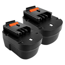2X 12V 1.3AH Battery For BLACK&DECKER A12 FSB12 HPB12 Firestorm FS120B D... - $46.98