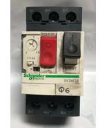 Schneider Telemecanique GV2ME08 Motor Circuit Breaker 2.5 - 4 Amp - $38.69