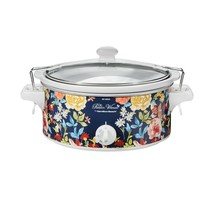 6-Quart The Pioneer Woman Beautiful Vintage Floral Portable Slow Cooker - $48.95