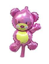 10 Pieces Mini Bear Aluminum Balloons Birthday Balloons - $11.06