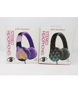 Pink Chandelier Stereo Adjustable Foldable Headphones - New - $12.99