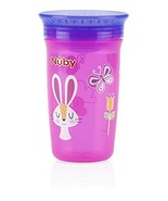 Nuby 1pk No Spill 360 Degree Printed Wonder Cup - Colors May Vary - $4.02