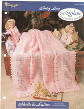 Shells and Lattice Crochet Baby Afghan Patter FREEBIE - $0.00