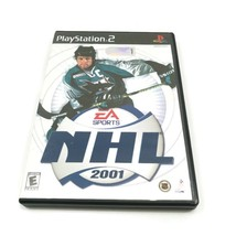 EA Sports NHL 2001 (Sony PlayStation 2, 2000) PS2 Complete Game, Case, M... - $2.96