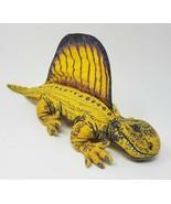 """14"""" VINTAGE 1992 APPLAUSE DINO DINOSAUR DIMETRODON YELLOW STUFFED ANIMAL... - $42.08"""