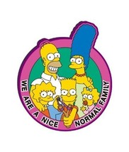 The Simpsons We Are A Normal Family Group PVC Figural Soft Magnet, NEW U... - $3.99
