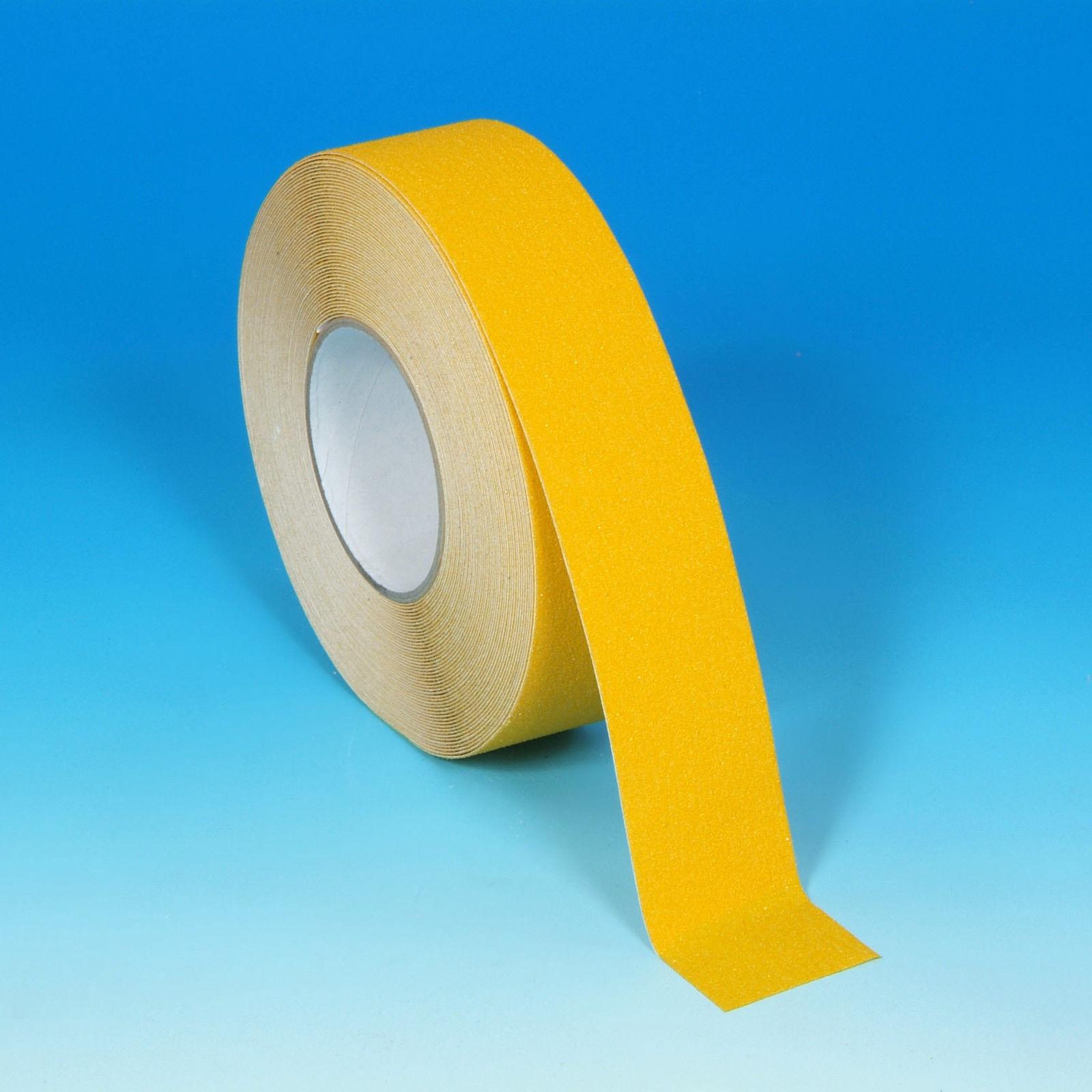 High Grip Adhesive Anti-Slip Tape Black/Yellow/Clear Non-Slip Tape Various Sizes