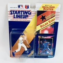 Nolan Ryan Starting Line Collectible Figurine New 1992 Edition With Card... - $23.27