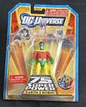 Dc Universe 75 Year of Super Powers Earth To Robin Action Figure New In ... - $35.00