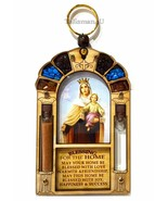 Blessed Virgin Mary Queen Of Heaven Catholic Home Blessing Religious Wal... - $18.66
