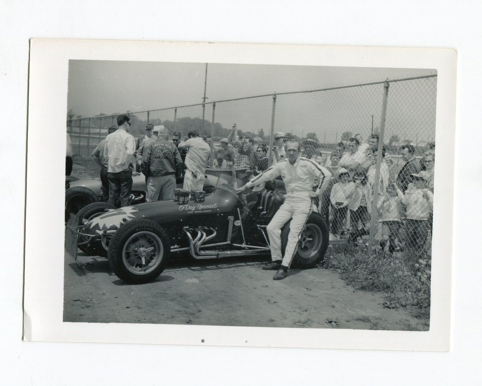 Billy Hughes-Photo-URC Sprint Car-Portrait-O'Day Special-VG