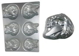 Wilton Big Bird Mini Cakes Pan 2105-2384 6 Cavity & Mini Big Bird 3005-6... - $29.99