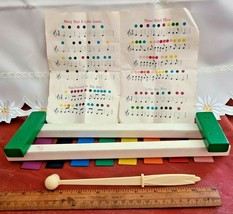 VINTAGE COLOR XYLO RIGHT-TIME TOYS CHILDHOOD INTERESTS ROSELLE PARK NJ image 2