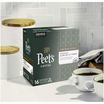Peet's Coffee Organic Alma De La Tierra Dark Roast Kcups - $17.29+