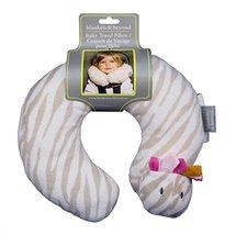 Blankets & Beyond Baby Travel Pillow - Zebra (Pink) - $12.99