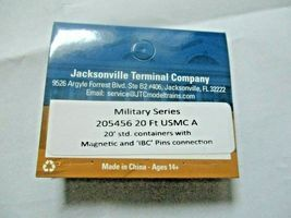 Jacksonville Terminal Company # 205456 USMC A 20' Container Military Series (N) image 4