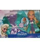 Disney Frozen Elsa Costume Dress Toddler Doll Collection 2-4T Gift Set - $89.95