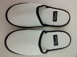 Fairmont Hotel and Resorts Lounge Slippers 3pr. White - $13.18