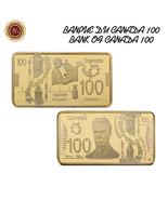 WR Canada 100 Dollars 1 OZ 24K Gold Clad Art Collectors Bar Gift Ideas F... - $4.66