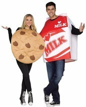 Cookies & Milk Couples Costume Food Halloween Party FW130754 - $59.99