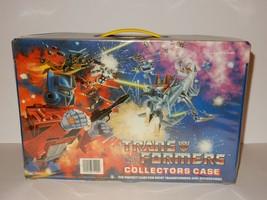Hasbro 1984 Transformers Collectors Case #75100 - $23.74