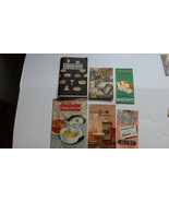 Vintage Recipe Booklets Cook books Kitchen Tips Lot Of 6, Great for Scra... - $13.89