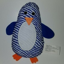 "Priddy Books Penguin Lovey Plush 6"" Stuffed Animal Toy Blue White Stripe... - $16.78"