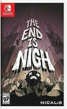 Nintendo Switch The End Is Nigh Video Game New Factory Sealed - $22.76