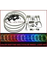 "Flashtech 17"" Color Change Multicolor LED Wheel Rings Rim Light Kit w/ R... - $195.43"