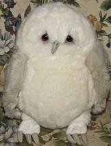 "Lou Rankin Friends Snow White Gray Owl Plush 11"" Dankin Applause Stuffed... - $18.69"