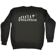 The Evolution Of Football Footy AFL Sports Funny SWEATSHIRT Birthday for... - $17.73