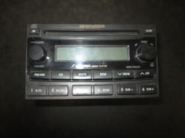 05 06 Hyundai Santa Fe Radio Cd MP3 #06961-94021 - $74.25