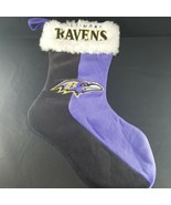 "Baltimore Ravens Christmas Stocking 18"" Size House Decoration Team Logo ... - $15.83"