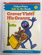 Fisher Price Talk To Me Player Book GROVER VISITS HIS GRANNY #12 - $9.49