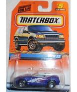 "1998 Matchbox ""BMW Z3"" #5 of 100 Vehicles On Sealed Card - $4.00"