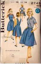 Vintage Butterick Pattern 2745 - Misses' Sportswear Coordinates, Sz 14 - $9.99