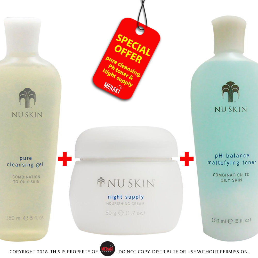 Nu Skin Nutricentials 3 set products offer (COMBINATION OIL) - $43.99