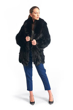 Black Fox Fur Jacket - $594.00