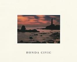 1990 Honda CIVIC sales brochure catalog US 90 DX LX EX Si 4WD - $8.00