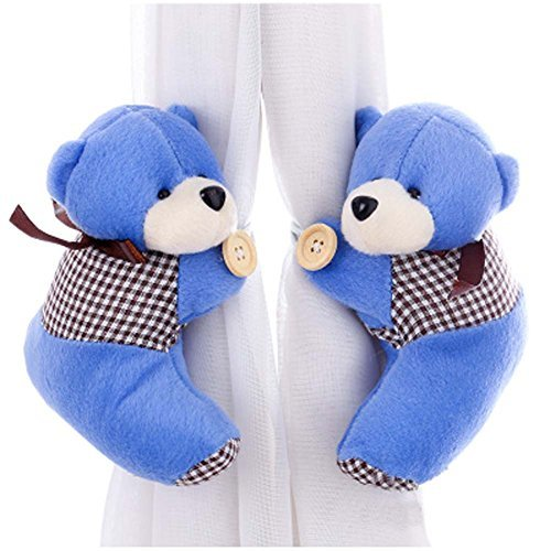 Primary image for George Jimmy 1 Pair of Cartoon Bear Curtain Hold Backs Curtain Tieback for Kids