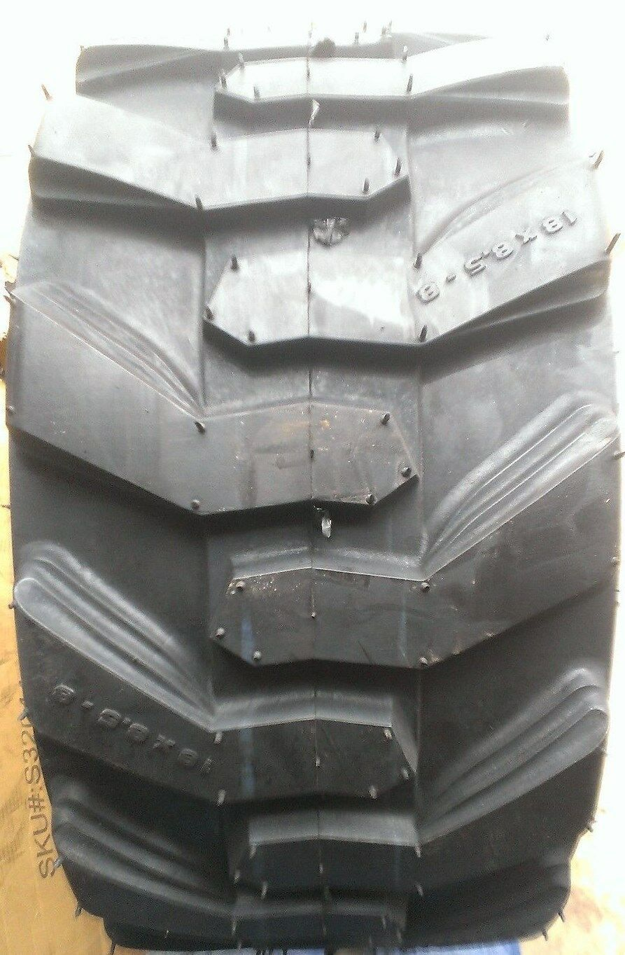 Two 18x9.50-8 Deestone D265 Turf Tubeless Tires  DS7040 2