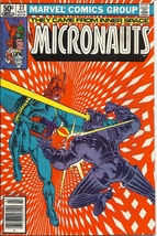 (CB-7) 1981 Marvel Comic Book: Micronauts #27 { Death of Biotron } - $5.00