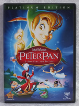 Disney's Peter Pan 2-Disc Platinum Edition DVD Bobby Discoll Kathryn Bea... - $20.00