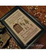 Pursue Love cross stitch chart Tree of Life Samplings - $9.90