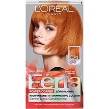 L'Oreal Paris Feria Multi-Faceted Shimmering Permanent Hair Color, C74 Copper Cr - $19.26