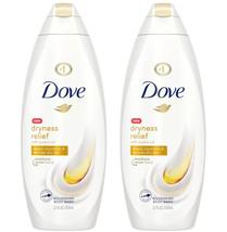 (2x) DOVE DRYNESS RELIEF Body Wash Original Clean w/Jojoba Oil, 22 fl oz/ea - $17.91