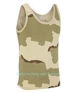NEW COMBAT US DESERT ARMY SINGLETS SLEEVELESS VESTS TANK TOP FANCY DRESS - $8.88