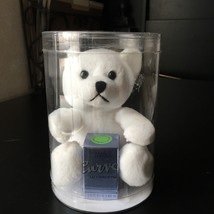 Liz Claiborne* .18 Oz Bottle Curve Mini Perfume White Teddy Bear Plush Gift Set - $29.99